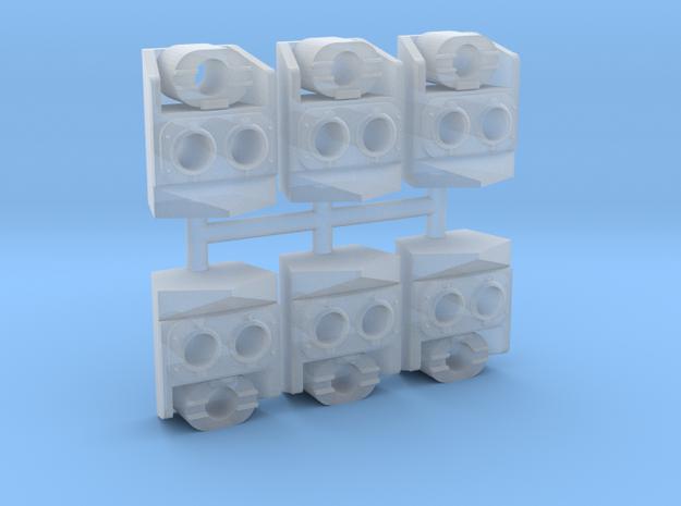 SP Nose Cluster (HO - 1:87) 6X in Smoothest Fine Detail Plastic