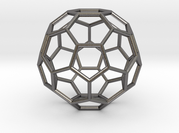 Hedron in Polished Nickel Steel