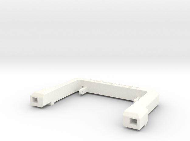 Defender A-Frame Protection Bar - Gear Head RC in White Strong & Flexible Polished