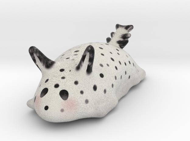 Stylised Sea Bunny slug (Jorunna parva/goma-chan) in Full Color Sandstone
