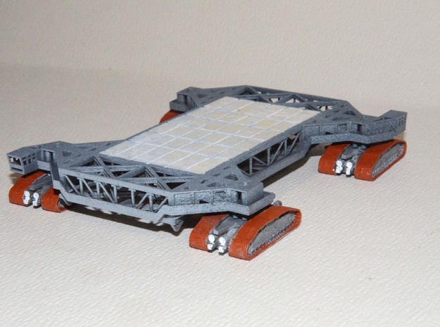 1/400 Crawler Transporter - Saturn V, 1B & shuttle 3d printed A customers painted model.