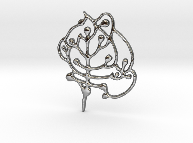 Neolithic 'Tree Of Life' Pendant 3d printed
