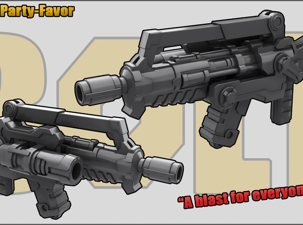 Party Favor: Assault Rifle