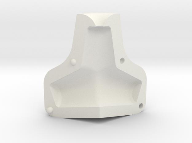 Tetrapod Mould in White Natural Versatile Plastic