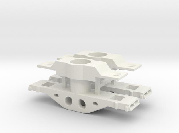 DIR NAtlORBP48 100t Truck Bolster - Detailed in White Natural Versatile Plastic