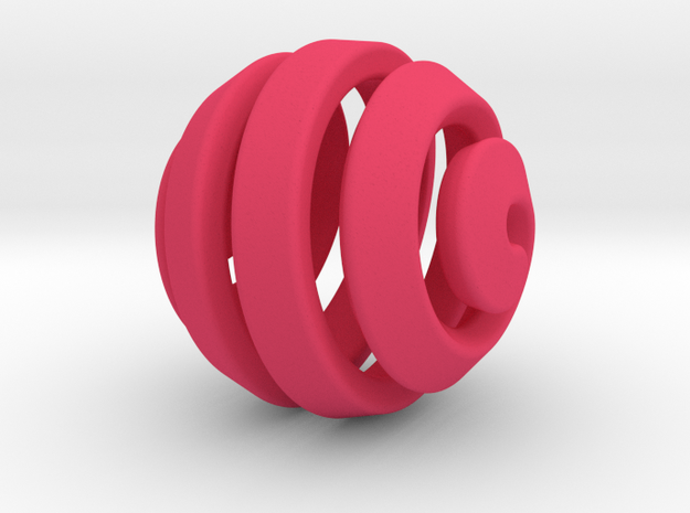 Ball-11-5 in Pink Processed Versatile Plastic