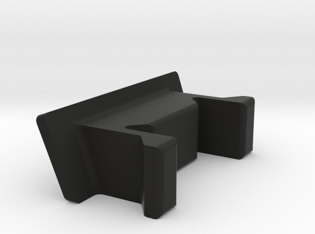 Side Panel R1 in Black Natural Versatile Plastic