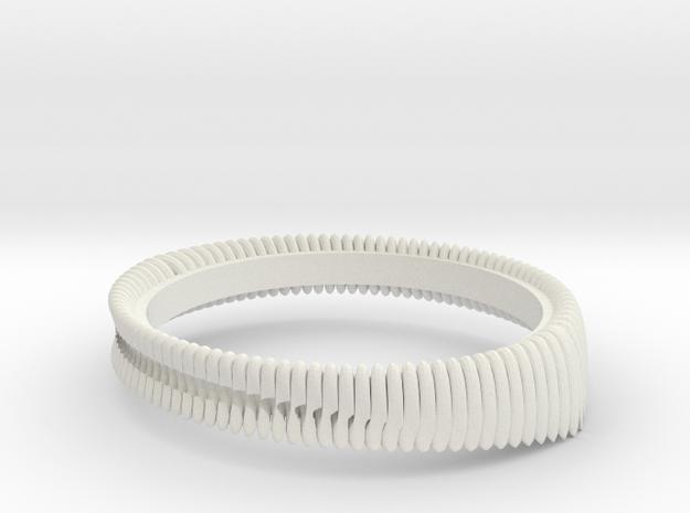 Springring (Japan 9,America 5,Britain J) in White Natural Versatile Plastic