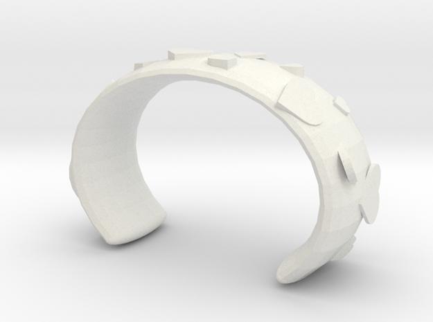 Love bracelet in White Natural Versatile Plastic