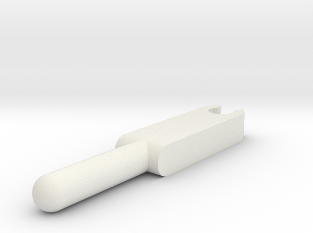 Joystick Potientiometer Assembly - Stick-1 in White Strong & Flexible
