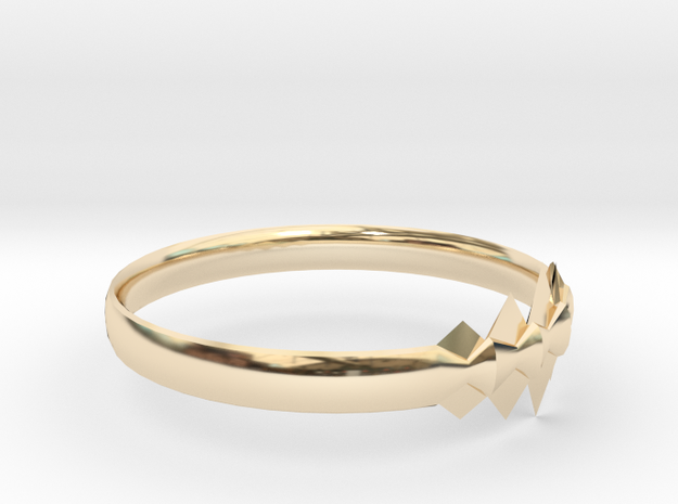 RING11DSIZER in 14K Yellow Gold