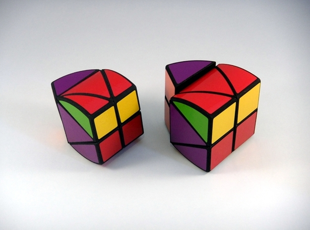 RotoPrism 2VB Puzzle 3d printed Next to RotoPrism 2