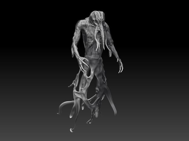 Mindflayer 3d printed