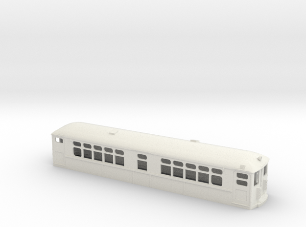 "CTA 4000 Series ""Baldie"" Modernized in White Natural Versatile Plastic"
