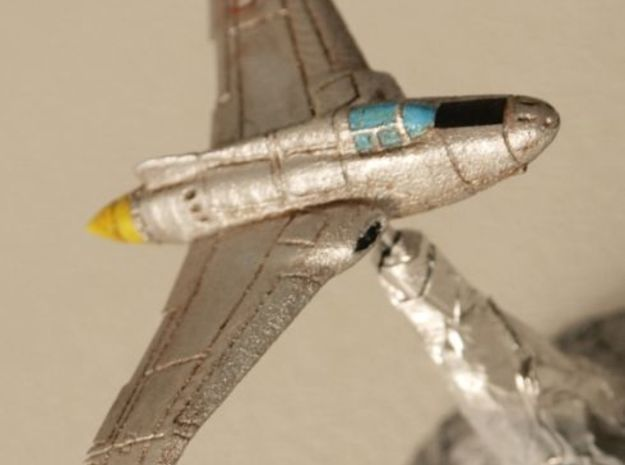 Northrop XP-56 Black Bullet 1/285 Frost Ultra 3d printed