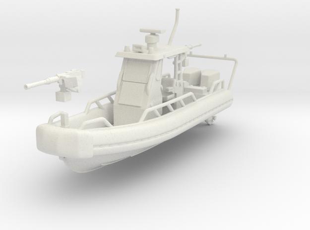 1/87 USN OSWALD PATROL BOAT SAFE BOAT in White Natural Versatile Plastic
