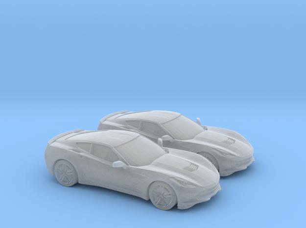 1/160 2X 2014 Chevrolet Corvette Stingray