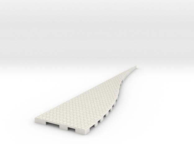 P-165stw-lh-loop-wedge-250r-100-live-1a in White Natural Versatile Plastic