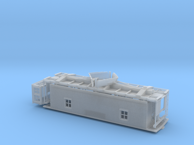 CN Double Sheathed Flanger S scale in Frosted Ultra Detail
