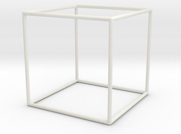 Cube Bracelet - Medium in White Strong & Flexible