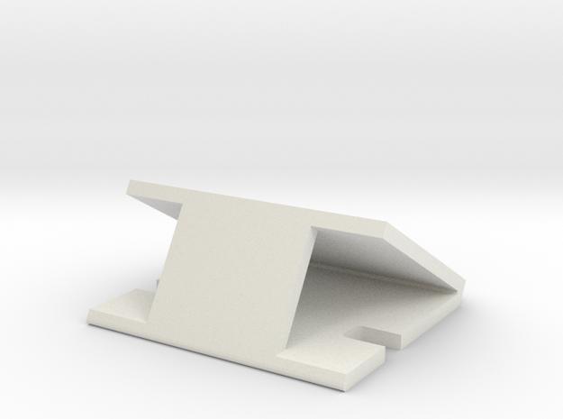 Servo Mount2 in White Natural Versatile Plastic