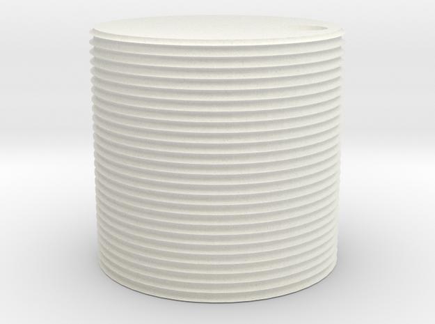 1000 gallon watertank (HO) in White Natural Versatile Plastic