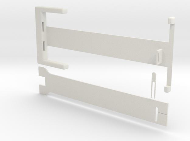 Window Blind Repair Kit Brace in White Strong & Flexible