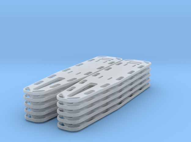 Spine Board X10 (1/35 scale) in Smooth Fine Detail Plastic