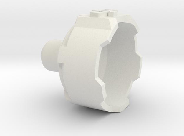 Phantom 3 Motor Cover - 1 Piece in White Strong & Flexible