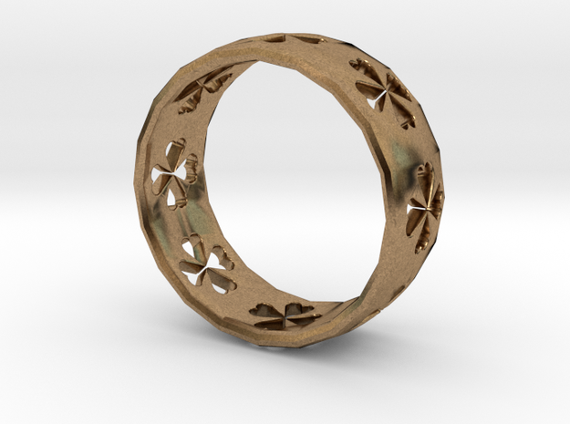 Clover Size 8 Ring