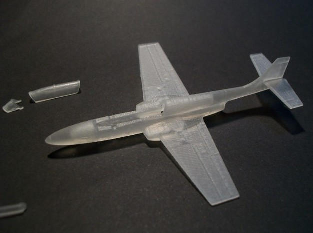 017A PZL TS-11 Iskra 1/144 in Smooth Fine Detail Plastic