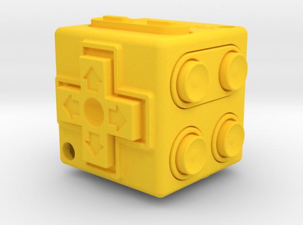 JoyCube in Yellow Strong & Flexible Polished