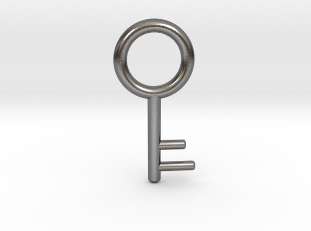 Resident Evil 1: old key in Polished Nickel Steel