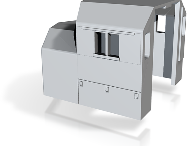 Z Scale SD-40w cab body 3d printed
