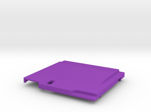 TED V2 DUO-R Style Shell in Purple Processed Versatile Plastic