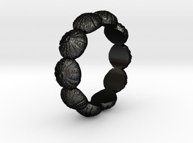 Urchin Ring 1 - US-Size 11 (20.68 mm) in Matte Black Steel