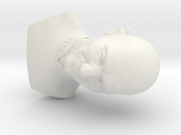 Picard Bust in White Strong & Flexible