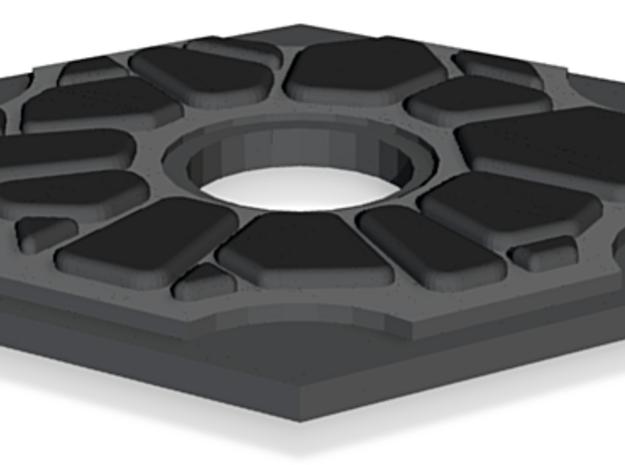 Catan Hex Tile Stone 79mm