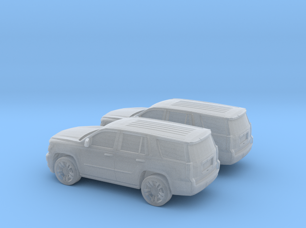 1/160 2X 2015 Chevrolet Tahoe in Smooth Fine Detail Plastic