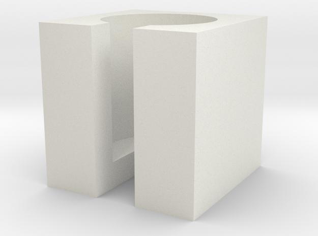 Halter Patiententaster in White Natural Versatile Plastic