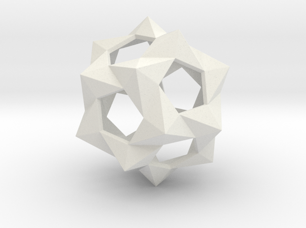 Large Bucky Ball in White Strong & Flexible