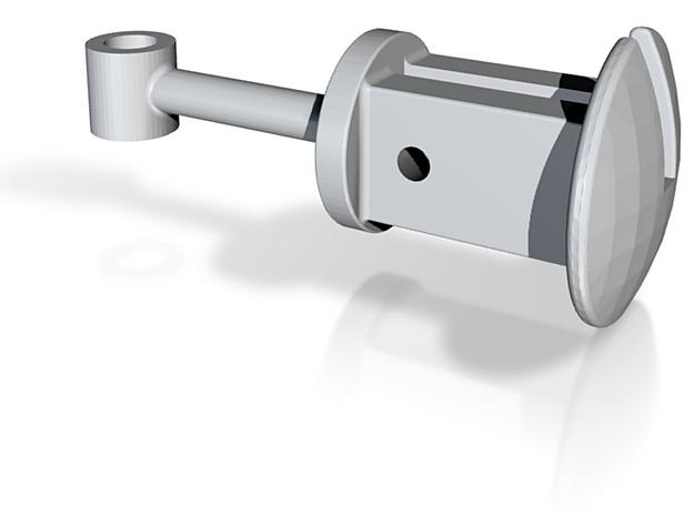 Fallhakenkupplung der DCR für GN 15 3d printed