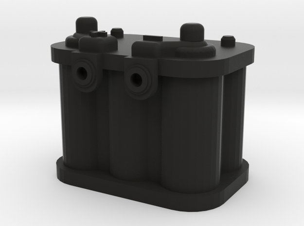 1/10 Scale Battery 2 in Black Strong & Flexible