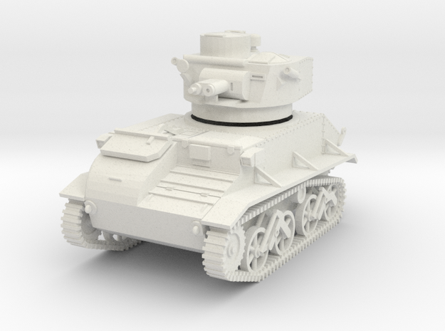 PV01A Mk VIB Light Tank (28mm) in White Natural Versatile Plastic