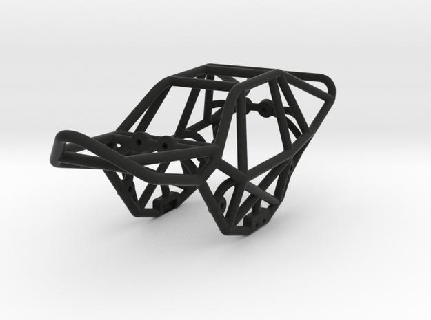 Eclipse 1/24th scale micro rock crawler chassis in Black Natural Versatile Plastic