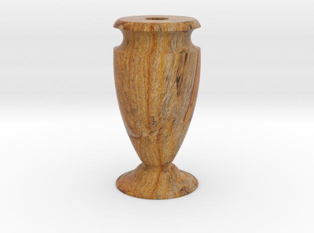 Flower Vase-1 2mm in Full Color Sandstone