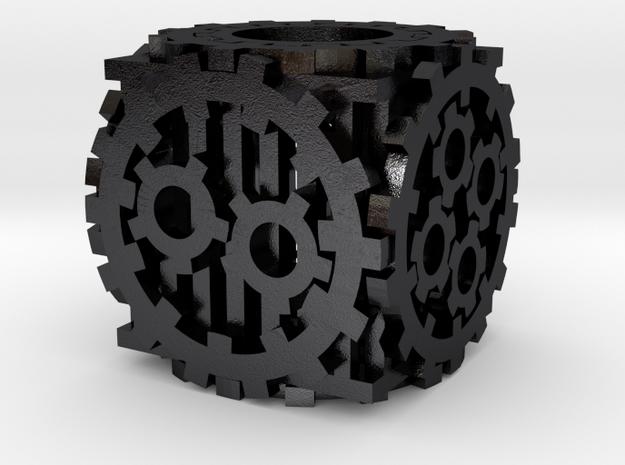 Steampunk D6 3d printed