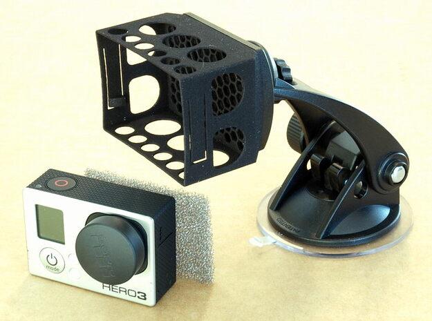 GoPro Hero3 HR-Mounts 3d printed
