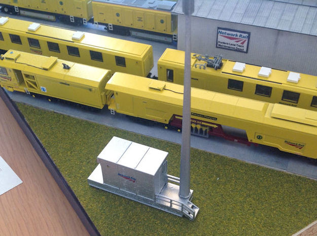 N Gauge GSM-R Set in Smooth Fine Detail Plastic