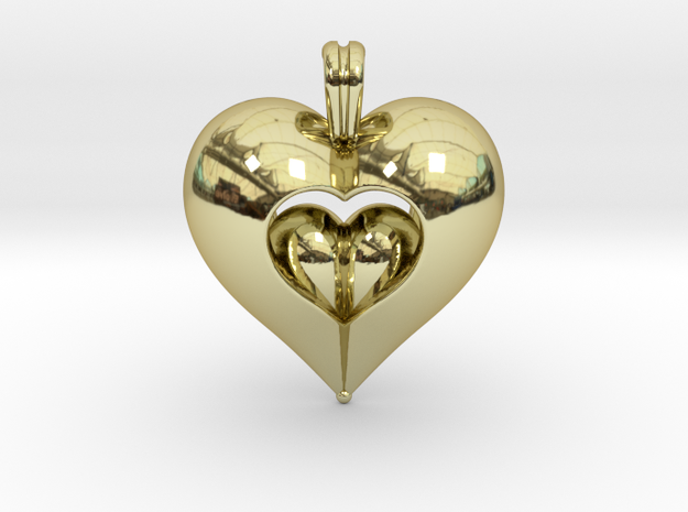 Open Love in 18k Gold Plated